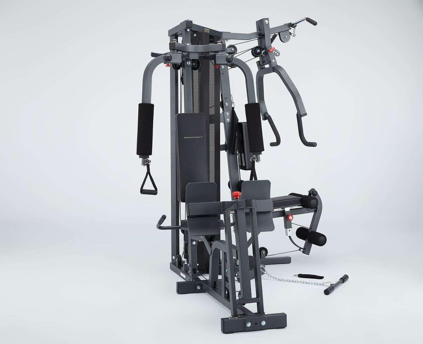 Optional Leg Press Front View
