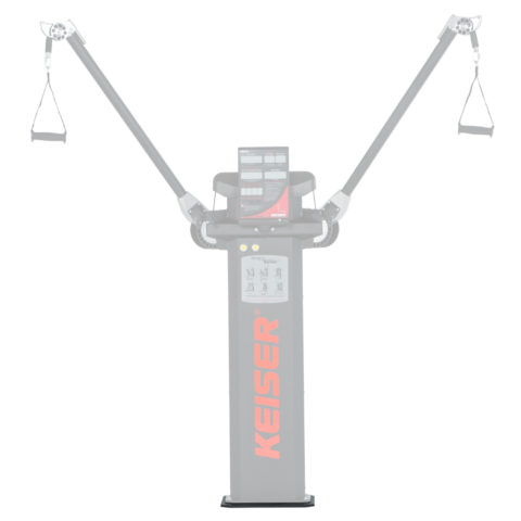 Keiser-Functional-Trainer-Floor-Mount-Cable-Machine-Accessory